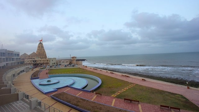 Somnath to Diu cycling route destinations