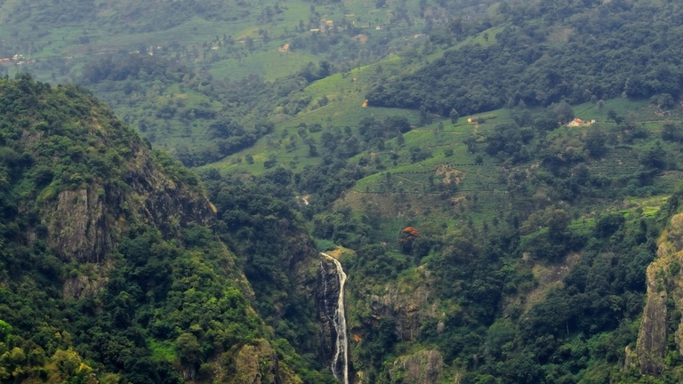 catherine-falls - coonoor tourism places