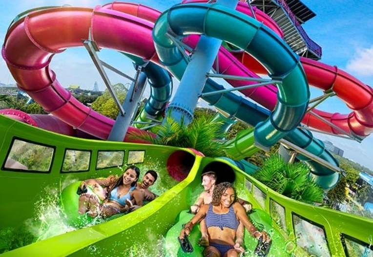 Other than fun-filled water slides and thrilling coasters